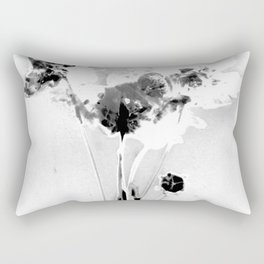 Floral Traces Rectangular Pillow