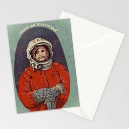 Valentina Tereshkova Stationery Cards