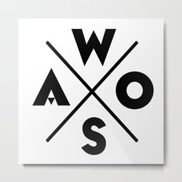 WOSA - World of Street Art Metal Print