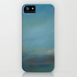 Abstract Clear Blue Ocean Skies  iPhone Case