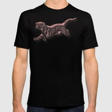 Tiger 3 Mens Fitted Tee 2X-LARGE Black