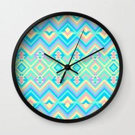 Geometric Psychadelus Wall Clock