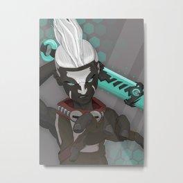 Ekko LOL Metal Print