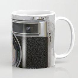 Yashica electro 35 on white marble Coffee Mug