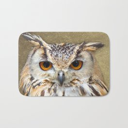 Indian Eagle Owl Bath Mat