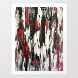 Bloodshed Art Print