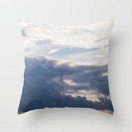 Sky 01/20/2014 17:13 Throw Pillow