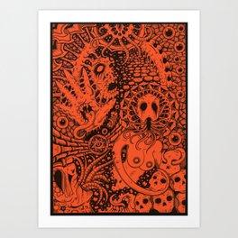 Enslaved Art Print