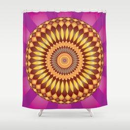 Fulfillment Mandala - מנדלה הגשמה Shower Curtain