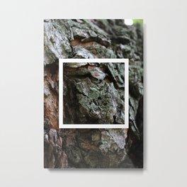 burl ~ nature photo manipulation Metal Print