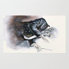 Leonard Bernstein Portrait Rug