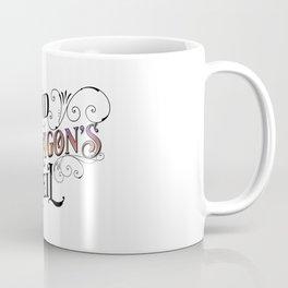 Behind the Dragon's Veil (The Dragarri Series by Christina Jolly) Coffee Mug