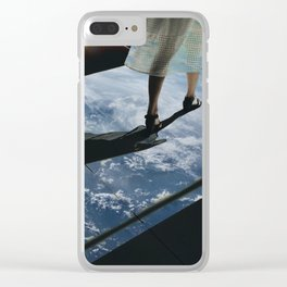effortlessly me Clear iPhone Case