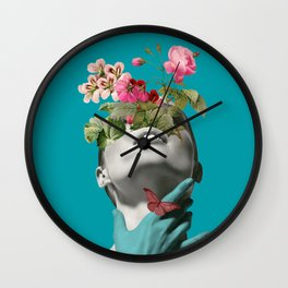 Inner beauty 3 Wall Clock