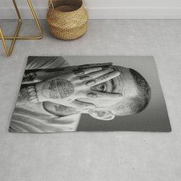 Mac miller, Fan art, music art, gift, gift ideas, home decor, wall decor, typography print, minimalist print, Neutral art, poster Rug