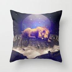 Under the Stars III (Leo) Throw Pillow