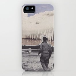 icecaps iPhone Case