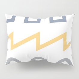 Waveform Pillow Sham