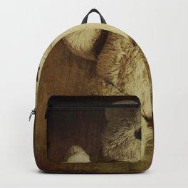 Old Teddy Bear Backpack