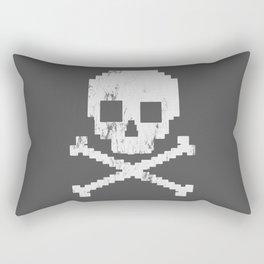 8 Bit Pirate Rectangular Pillow