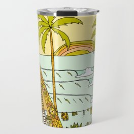a frame dream home in paradise simple life by surfy birdy Travel Mug