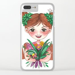 Gardening Clear iPhone Case