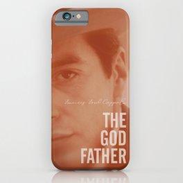 The Godfather, Alternative Movie Poster, Al Pacino, Marlon Brando, classic film iPhone Case