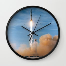 Apollo 8 - Saturn V Liftoff! Wall Clock