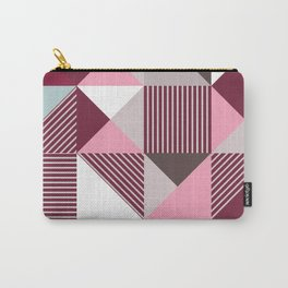 Scandi Geo Carry-All Pouch
