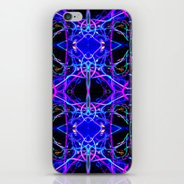 Bright Lights and City Nights iPhone Skin