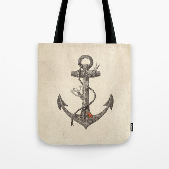 Lost at Sea - mono Tote Bag