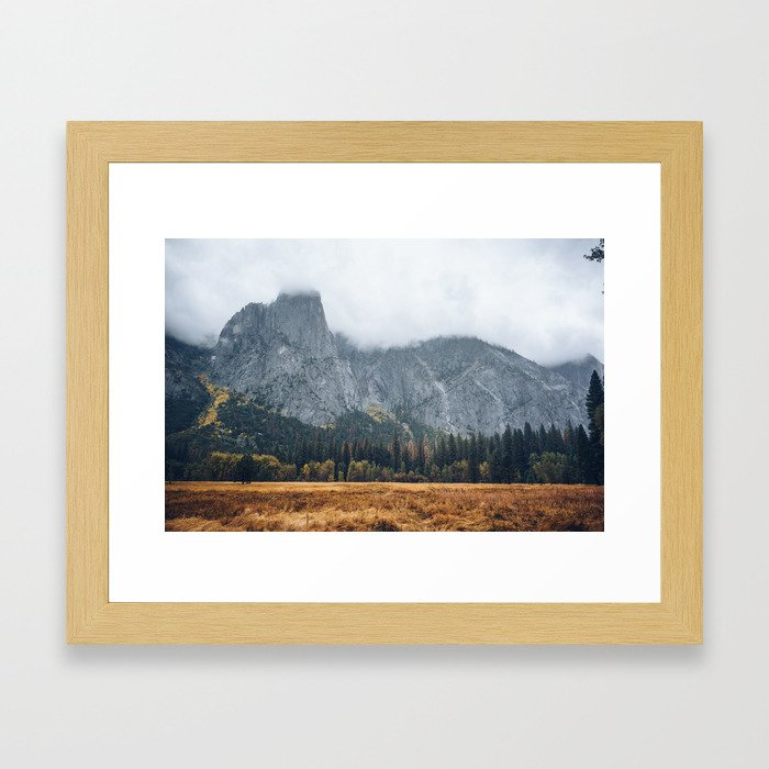 Beautiful Yosemite in Fall Framed Art Print