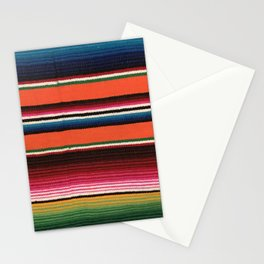 BEAUTIFUL MEXICAN SERAPE Stationery Cards