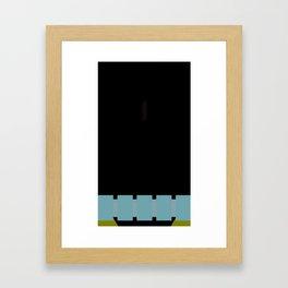 Jango Fett poster Framed Art Print