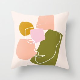 Homme Throw Pillow
