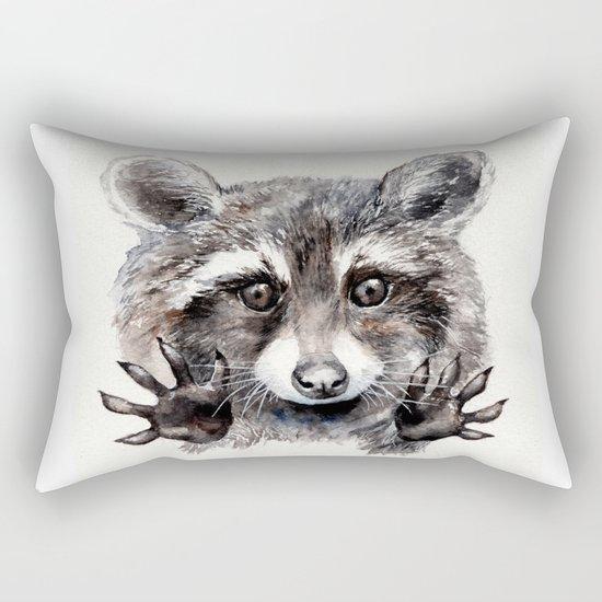 Magic! // Raccoon Rectangular Pillow