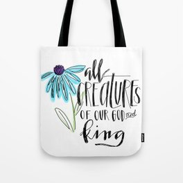 all creatures Tote Bag