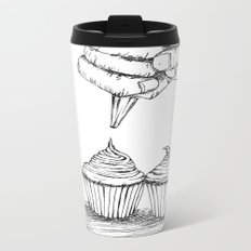 cupcake Metal Travel Mug