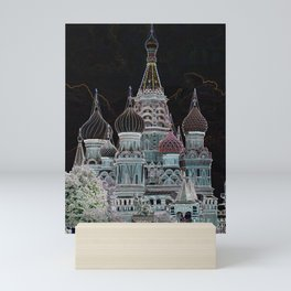 St. Basil's Cathedral v Mini Art Print