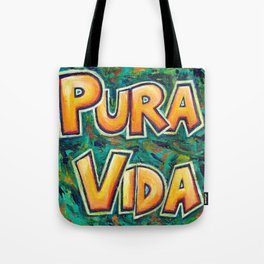 Pura Vida Abstract Tote Bag