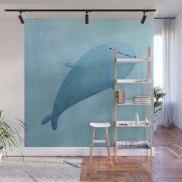 Cute Whale Shark Wall Mural