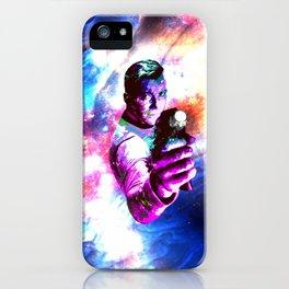 Color jump, James T Kirk iPhone Case