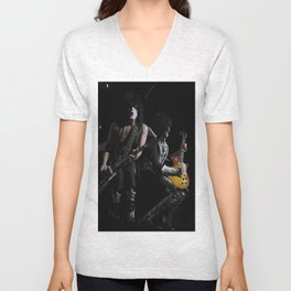 Paul Stanley and Tommy Thayer of KISS Unisex V-Neck