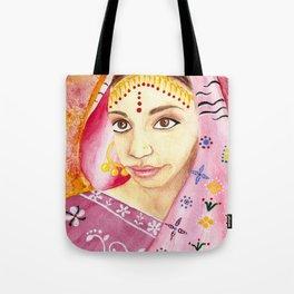 India Bride - Ethnic Art Tote Bag