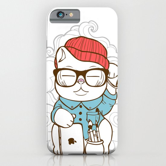 Hipster Kitty iPhone & iPod Case