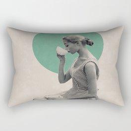 Coffee is always a good idea Rectangular Pillow