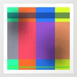 Rectangles in Square Art Print