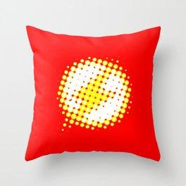 Flash Throw Pillow