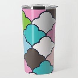 Preppy Fun Pattern Travel Mug