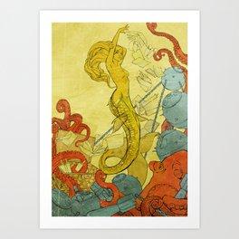 Sea Witch Art Print